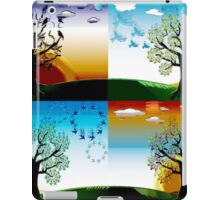 FOUR SEASONS iPad Case/Skin