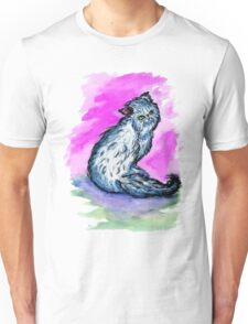Persian Cat Watercolor Unisex T-Shirt