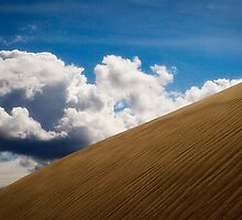 Sand Dune and Clouds by GesturesPhoto