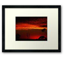 """""""Pre-dawn Sky"""" Framed Print"""