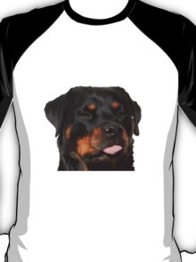 Cute Rottweiler With Tongue Out T-Shirt