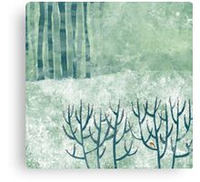 Cold Hedgerow Canvas Print