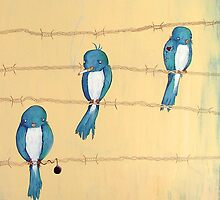 Jail birds... by Helena Babic