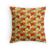 Apple Seamless Pattern Throw Pillow