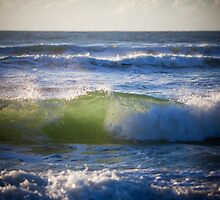 emerald waves by Darren Smith