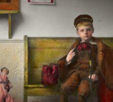Children - Life is an adventure 1893 Sticker