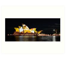Sydney Opera House, June 2009. Art Print