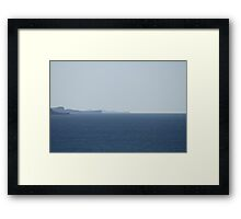 Out in The Distance Framed Print