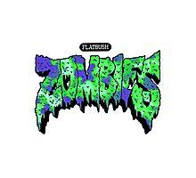 Flatbush ZOMBiES Logo Photographic Print