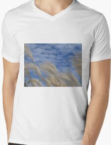 Swaying in the Wind Mens V-Neck T-Shirt