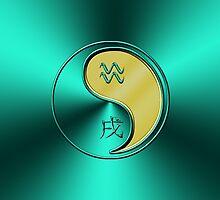 Aquarius & Dog Yang Metal by astrodesigner75