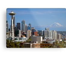 The Space Needle, Downtown Seattle Metal Print