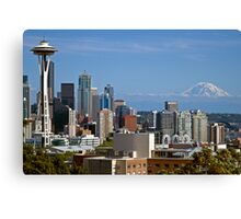 The Space Needle, Downtown Seattle Canvas Print