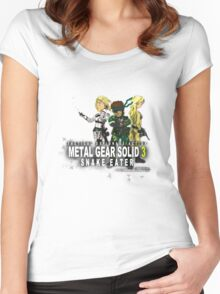 Metal Gear Solid 3 - Snake Eater Women's Fitted Scoop T-Shirt