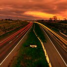 Ringroad at sunset by Hans Kawitzki