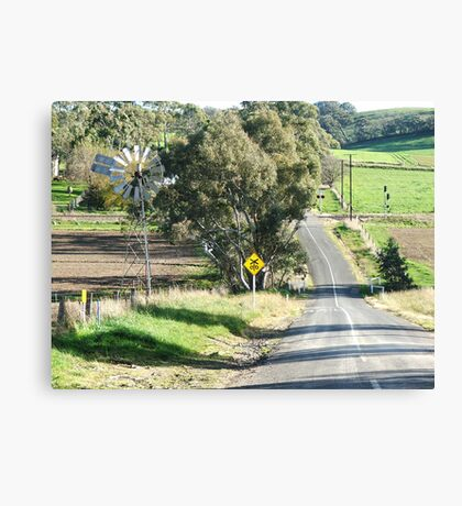 Wind & Road Canvas Print