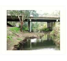 Bridge Over Troubled Waters Art Print