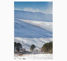 Winter Trees on the Snowy Hillside Baby Tee