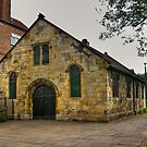 St Crux - Pavement,York by Trevor Kersley