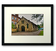 St Crux - Pavement,York Framed Print