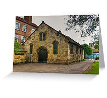 St Crux - Pavement,York Greeting Card