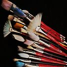 Paintbrushes by Barbara Morrison