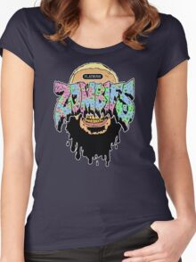 Flatbush ZOMBiES Logo x JUICE Women's Fitted Scoop T-Shirt