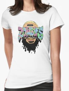 Flatbush ZOMBiES Logo x JUICE Womens Fitted T-Shirt