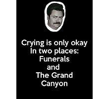Crying Photographic Print