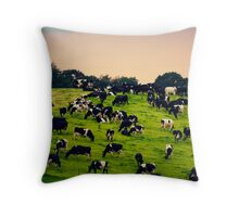 A Little English Countryside Throw Pillow