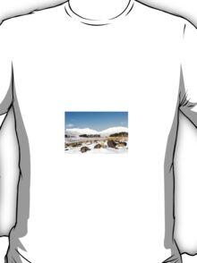 Upper Neuadd Reservoir in Winter T-Shirt