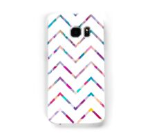 White Zigzag Samsung Galaxy Case/Skin