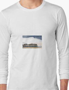 Pen Y Fan in the Snow Long Sleeve T-Shirt