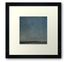 Big sky with frost Framed Print