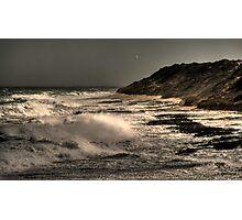 The Wild Sea.... Photographic Print