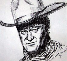 John Wayne by keys307a