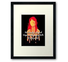 Jolene Framed Print