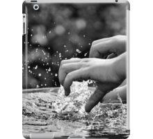 Catching Water iPad Case/Skin