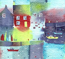 Quiet harbour by Nic Squirrell