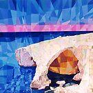 Blue Grotto - Malta by Joseph Barbara