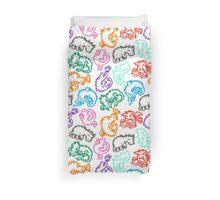 Crayon Dragons Duvet Cover