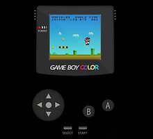 Retro Nintendo Game Boy Super Mario  by CroDesign
