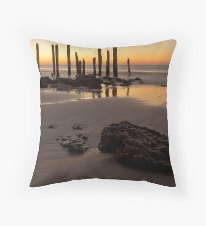 Port Willunga Alpenglow Throw Pillow