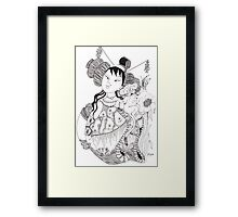 The Empress and the tiger cub 569 views Framed Print