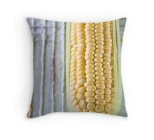 corn on the cob Throw Pillow