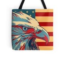American Patriotic Eagle Bald Tote Bag