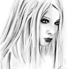 Lilith on white by dimarie