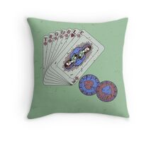 Hey boy, what's your game Throw Pillow