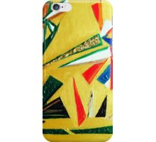 Oakland Wall Flower Design By Octavious Sage  iPhone Case/Skin