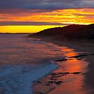 Coastal Sunset by Clive